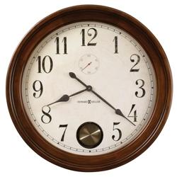 "32""Dia Wood Frame Gallery Wall Clock, 91247"