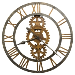 "30""Dia Metal Gallery Wall Clock, 91248"