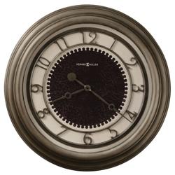 "25.5""Dia Oversized Antique Nickel Wall Clock, 91251"