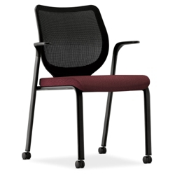 HON Nucleus Mesh Back Stacking Guest Chair 50969