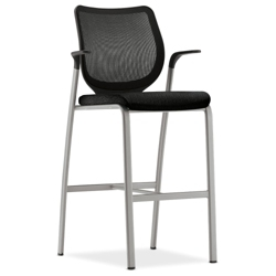 HON Nucleus Mesh Back Cafe Stool, 50970