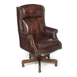 Traditional Executive Chair in Leather, 55086