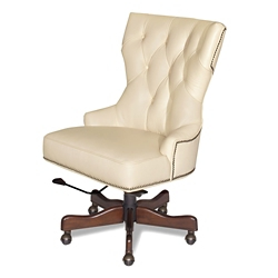 Hourglass Executive Chair in Leather, 55110