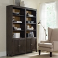 "Two-Tone Bookcase Set - 84""H, 32239"
