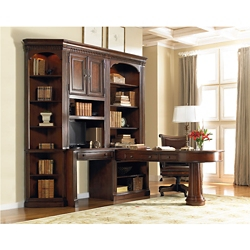 European Small Peninsula Desk Office Set, 13569