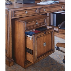 "18""W 2 Drawer Traditional Mobile Pedestal, 30038"