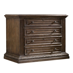 "30.75""H Rustic Two Drawer File, 30050"