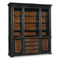 "90""H 9 Shelf Traditional Bookcase with Doors and Lateral File, 32025"