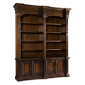 "European Double Bookcase - 104""H, 32959"