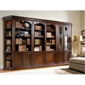"Traditional European Library Wall Set - 88""H, 32960"