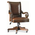 Genuine Leather Traditional European Executive Chair, 55598