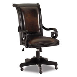 Traditional Leather Office Chair, 55601