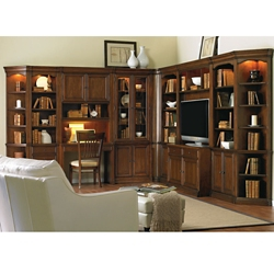 Classic Storage Wall with Entertainment Console, 86014