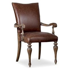 Leather Arm Chair, 55051
