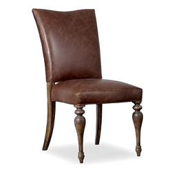 Leather Armless Guest Chair, 55052