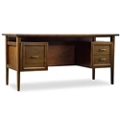 "Modern Three Drawer Compact Desk - 64""W, 10580"