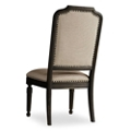 Mediterranean Armless Chair in Fabric, 55084