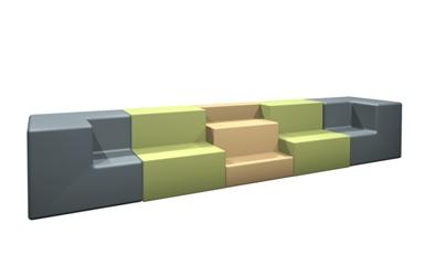 Five Piece Collaborative Seating Set, 53201