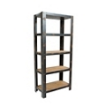 "Five Shelf Bookcase Natural - 74""H, 33083"