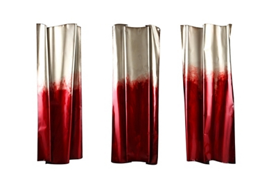 Red Shimmer Wall Art, 92243