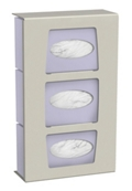 Dual Mount 3 Glove Box Wall Dispenser, 25582