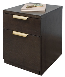"24""H Two Drawer Rolling File, 30918"