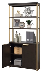 "Bookcase With Lower Doors- 74""H, 32392"