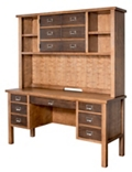 "Credenza and Hutch - 60""W, 14999"