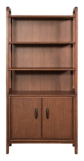 "Bookcase with Lower Doors - 34""Wx13""Dx72""H, 32304"