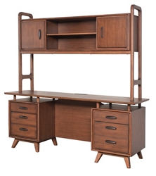 "Credenza with Hutch - 70""Wx21""Dx73""H, 83086"
