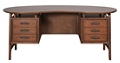 "Kidney Shape Desk - 72""Wx36""Dx30""H, 83085"