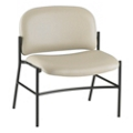 Armless Bariatric Vinyl Guest Chair , 25928