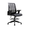 Folding Back Poly Lab Chair, 25932
