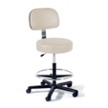 Vinyl Lab Stool with Lever Handle , 25934