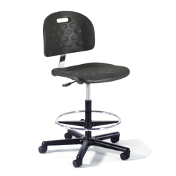 Molded Urethane Lab Stool , 25936