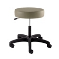 Physician Exam Stool with D Handle Release and Black Composite Base, 25941