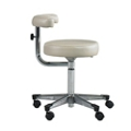Physician Exam Stool with Procedure Arm and Aluminum Base , 26166