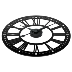 "Abbey 38"" Contrast Numeral Wall Clock, 82360"
