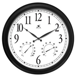 "Definative 24"" Indoor/Outdoor Wall Clock, 91269"