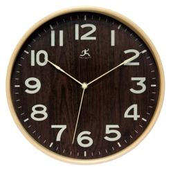 """Bentwood 12.5"""" Modern Wall Clock, 91271"""