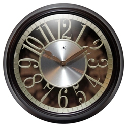 "Leeds 15"" Floating Dial Wall Clock, 91274"