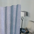 "Patterned Print Privacy Curtain - 5'6""W x 6'2""H, 25679"