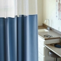 "Solid Print Privacy Curtain- 102""W x 86""H , 25958"