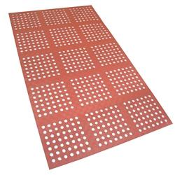Terracotta Grease Resistant Drain Mat 3'W x 5'D, 82875