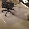 "Premium 45"" x 53"" Chair Mat with Lip for Carpet, 54130"