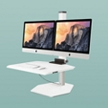 "Dual iMac VESA Compliant Station - 30""W Work Surface, 60046"