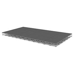 Rectangular Carpeted Stage Set - 12'W x 8'H, 86359