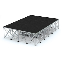 Rectangular Stage Set - 12'W x 24'H, 86365