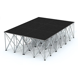 "Rectangular Stage Set - 12'W x 32""H, 86366"
