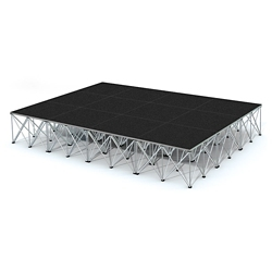 Rectangular Stage Set - 12'W x 24'H, 86369